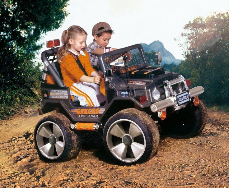 Odličen avto na akumulator za vse terene. 24V napajanje za neverjetno moč in vzdržljivost.