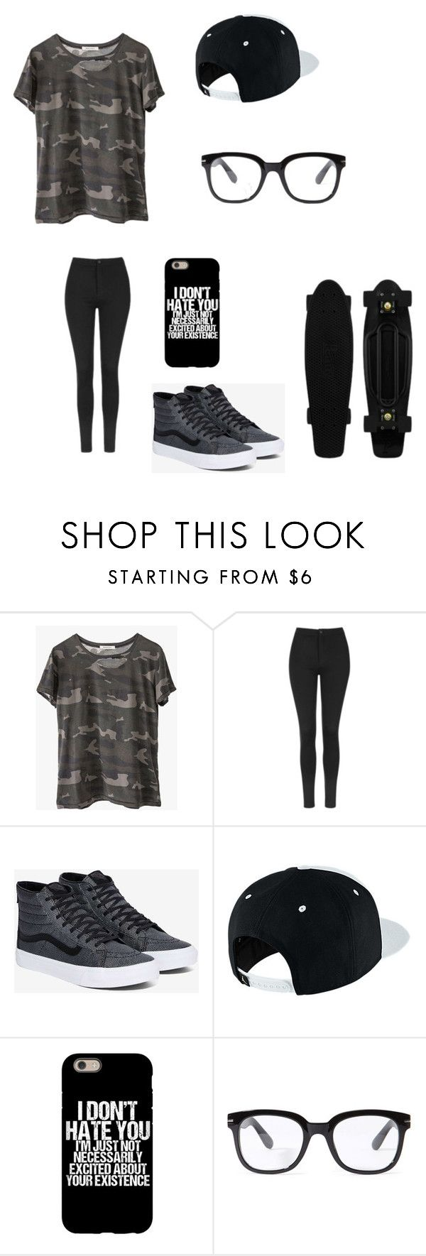 """Untitled #121"" by darksoul7 on Polyvore featuring Ragdoll, Topshop, Vans, NIKE and Forever 21"