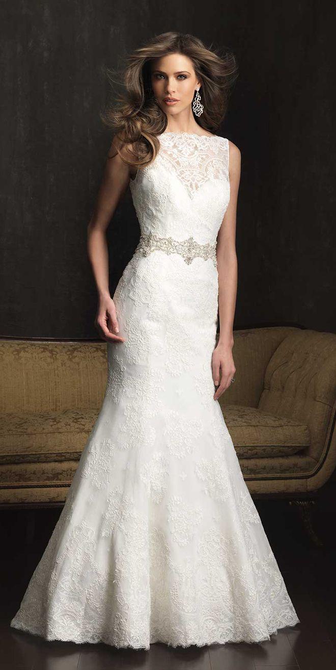 114 best allure bridals images on pinterest short for Allure short wedding dress