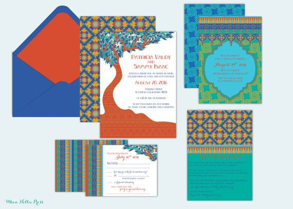 Art Nouveau/Egyptian/Moroccan  Whimsical Style by WhoaNelliePress