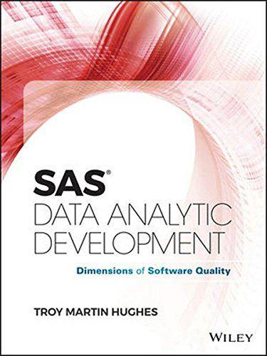 SAS Data Analytic Development Pdf Download e-Book