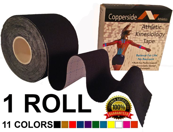 Buy copperside athletic/ kinesiology tape at just $10.95 from Copperside Athletics. It overcomes your pain and recover your injuries and pain quickly.