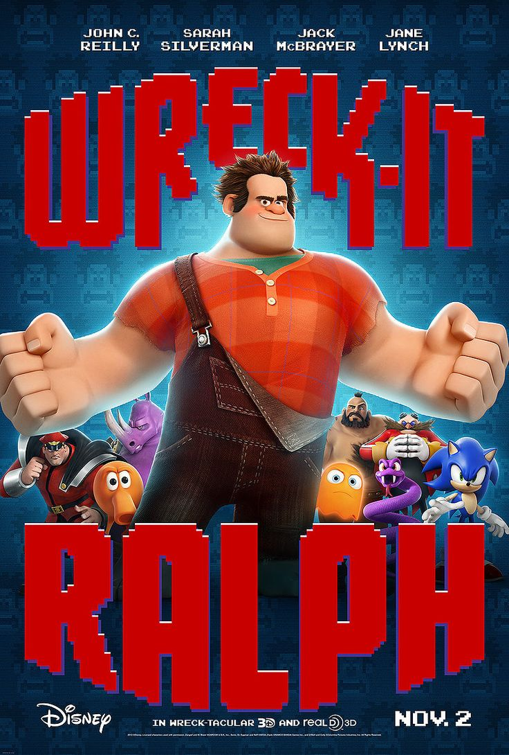 FiftyFifty.me - a challenge to read 50 books and watch 50 movies in 2013. Movie 25/50: Wreck-it Ralph