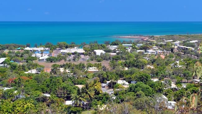 The town of Nhulunbuy. It faces a tough future