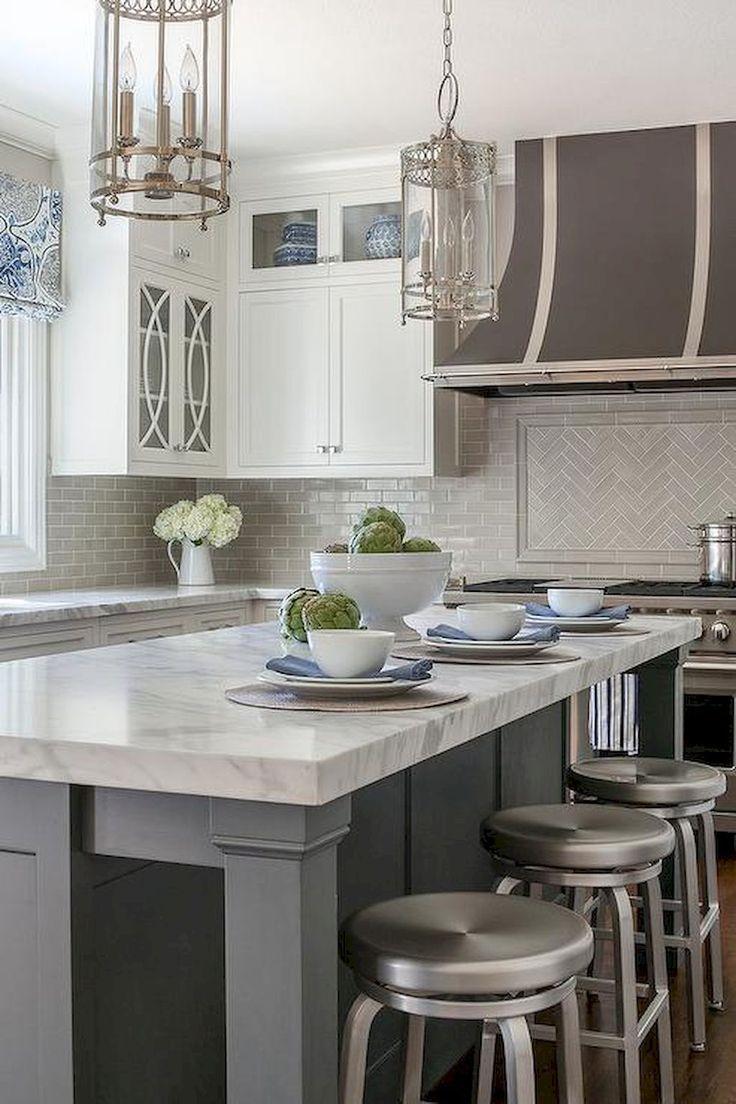 65 simple & beautiful kitchen backsplash design ideas on a ...