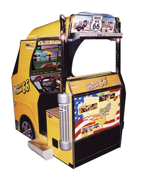 King of Route 66 Arcade Machine For Sale