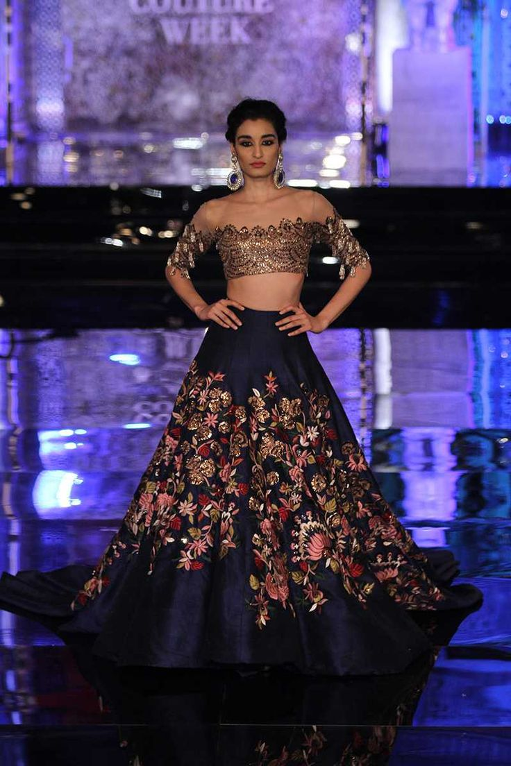 Indian bridal outfit from Manish Malhotra's The Persian story
