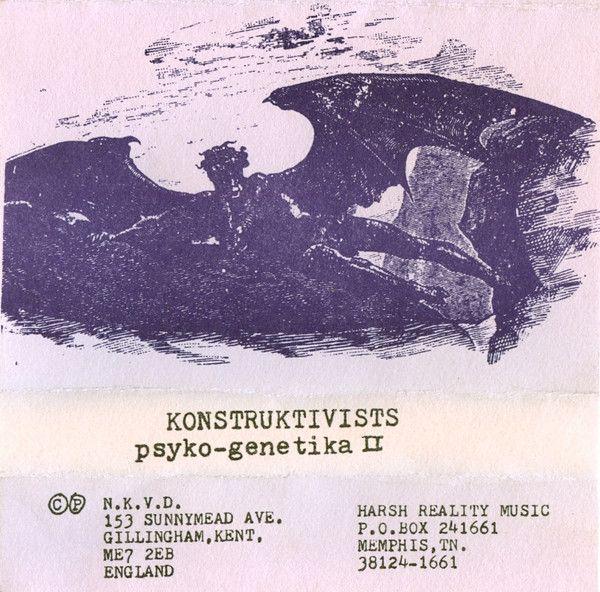 Konstruktivists* - Psyko-Genetika II (Cassette) at Discogs