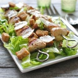 Grilled Chicken Caesar Salad KEBAB.