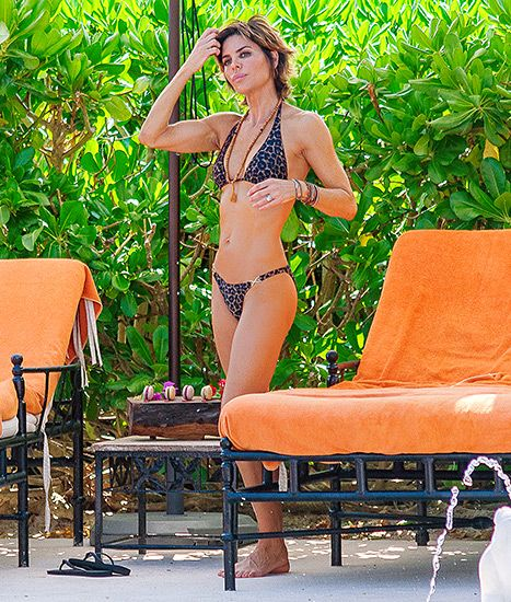 Lisa Rinna and her family have been enjoying sunny Mexico this week — and have been looking good while doing so!