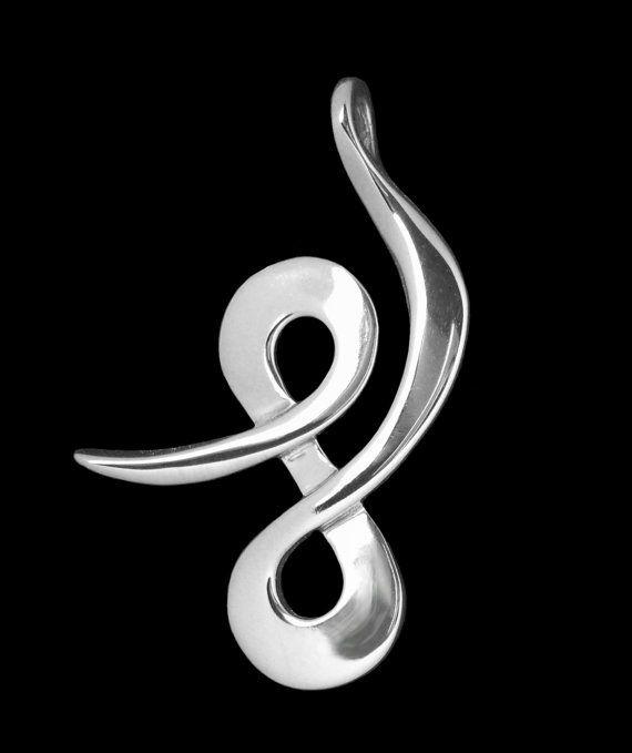 Balance Lg Pendant / Necklace Spiritual Symbol door krobinsdesigns