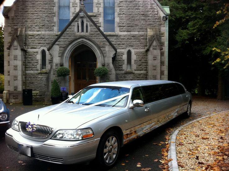 Silver Wedding Limousine Hire Dublin 15