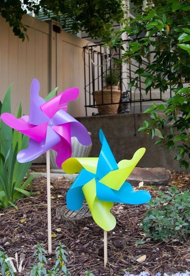 Easy Diy Giant Outdoor Pinwheels Bricolage Pinwheels