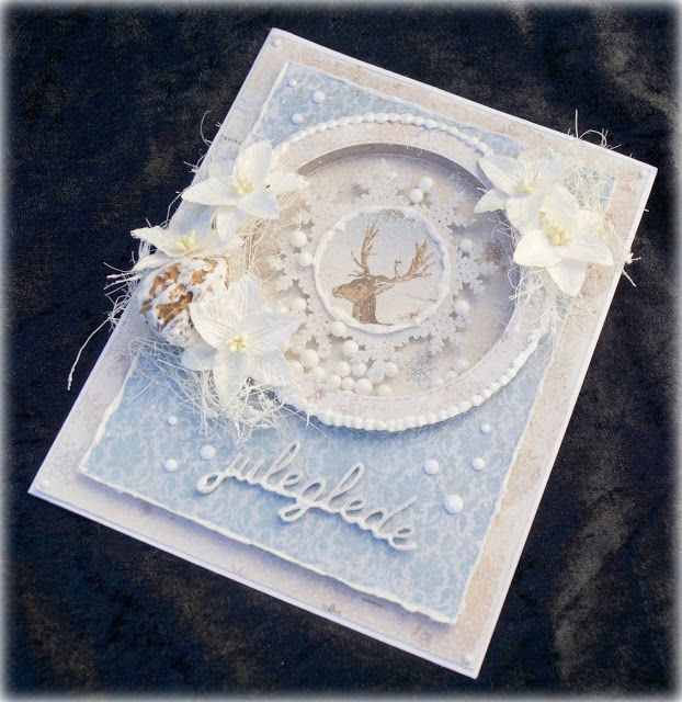 Mitt Lille Papirverksted: Winter Shaker Card