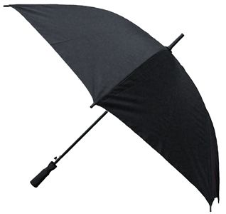 "For sporting events, outdoor concerts or just a plain rainy day, this umbrella will please even the most discriminating owner. Measures 46"" across the top. http://www.wholesalemart.com/Wholesale-Umbrellas-s/313.htm"