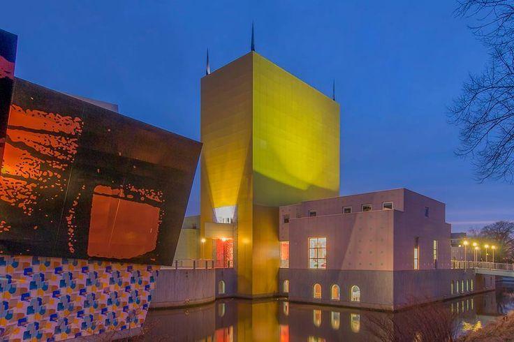 Groninger Museum, Groningen, The Netherlands.