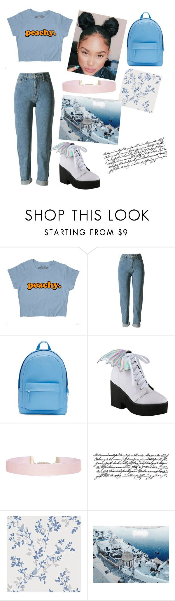 """""""I'm back....and I'm better ☺️💙"""" by aliyah21-com ❤ liked on Polyvore featuring PB 0110, Iron Fist, Humble Chic and Tim Holtz"""