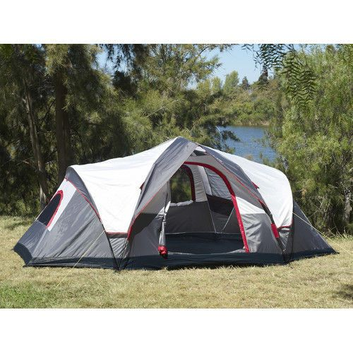 C&ing Tent 6 To 8 Person Outdoor Family Shelter Hiking Instant Quick Set Up  sc 1 st  Pinterest & 47 best Camping! images on Pinterest | Camping outdoors Campsite ...