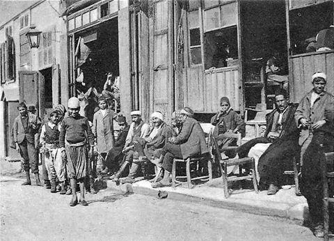 1890 XANIA KAΦΕΝΕΣ ΜΟΥΣΟΥΛΜΑΝΟΙ