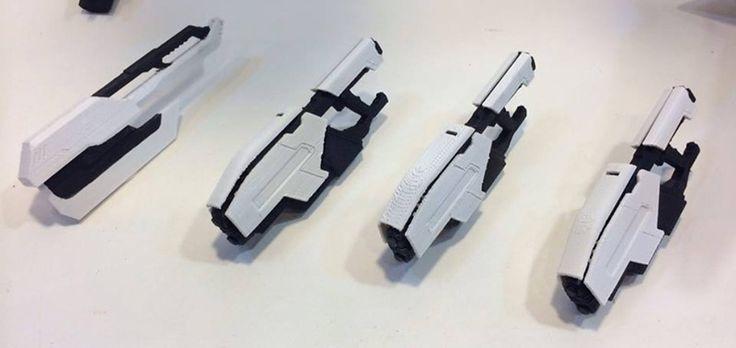 3D print _ 1:6 sci-fi weapon