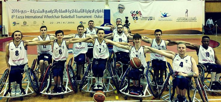 Great Britain's Junior Men took part at the Fazza International Wheelchair Basketball Tournament, held at the Al Ahli Club last week, finishing in third-place. The tournament provided the GB Junior Men with an opportunity to build the team and challenge for selection for the World Championship