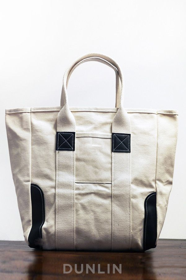 Dunlin Duck Canvas & Leather Tote from Dunlin via The Third Row