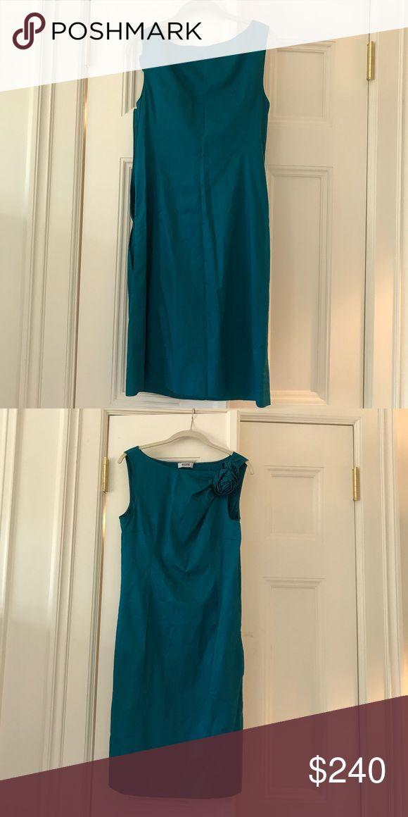 Selling this Moschino size 8 dress on Poshmark! My username is: greenwichstyle. #shopmycloset #poshmark #fashion #shopping #style #forsale #Dresses & Skirts