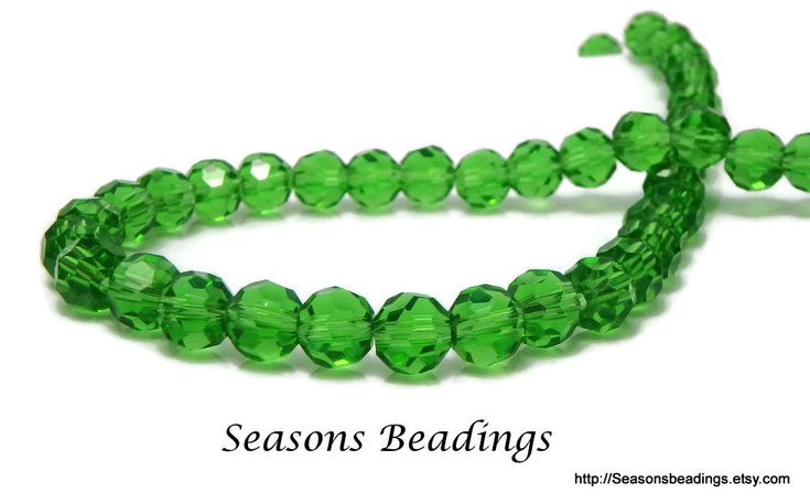 Excited to share the latest addition to my #etsy shop: 96 Translucent Green 6mm Faceted Round Crystal Beads - Free Shipping to Canada http://etsy.me/2oikyWw #supplies #green #crystal #jewelrymaking #freeshipping #canada
