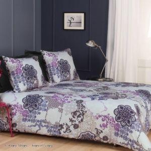 Dekbedovertrek Boa Vista Paars, nu in de uitverkoop! #huis #wonen #slaapkamer #bed #overtrek #decoraties #inrichting #interieur #design #bedroom #sheets #sale