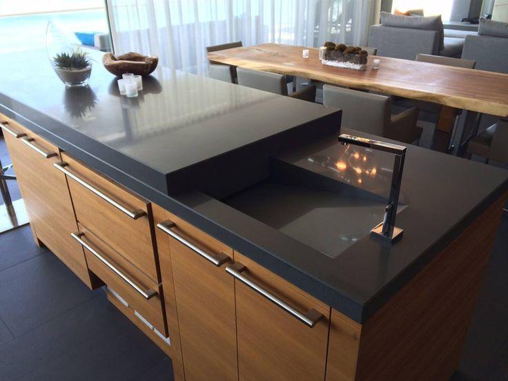 Die besten 25+ Küchenarbeitsplatten aus beton Ideen auf Pinterest - k chenarbeitsplatten aus beton
