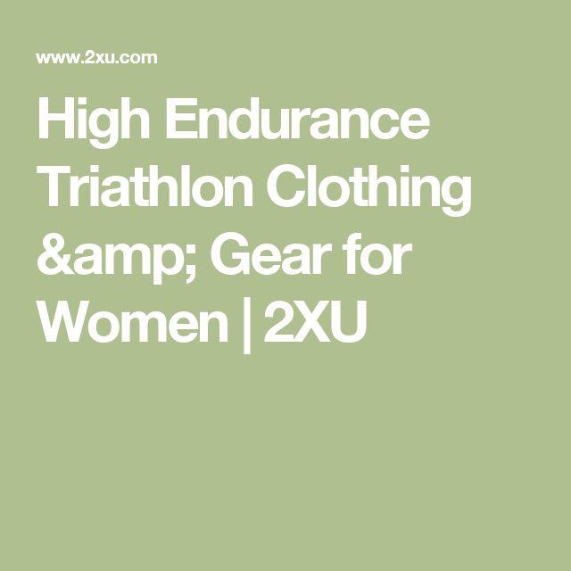 High Endurance Triathlon Clothing & Gear for Women   2XU