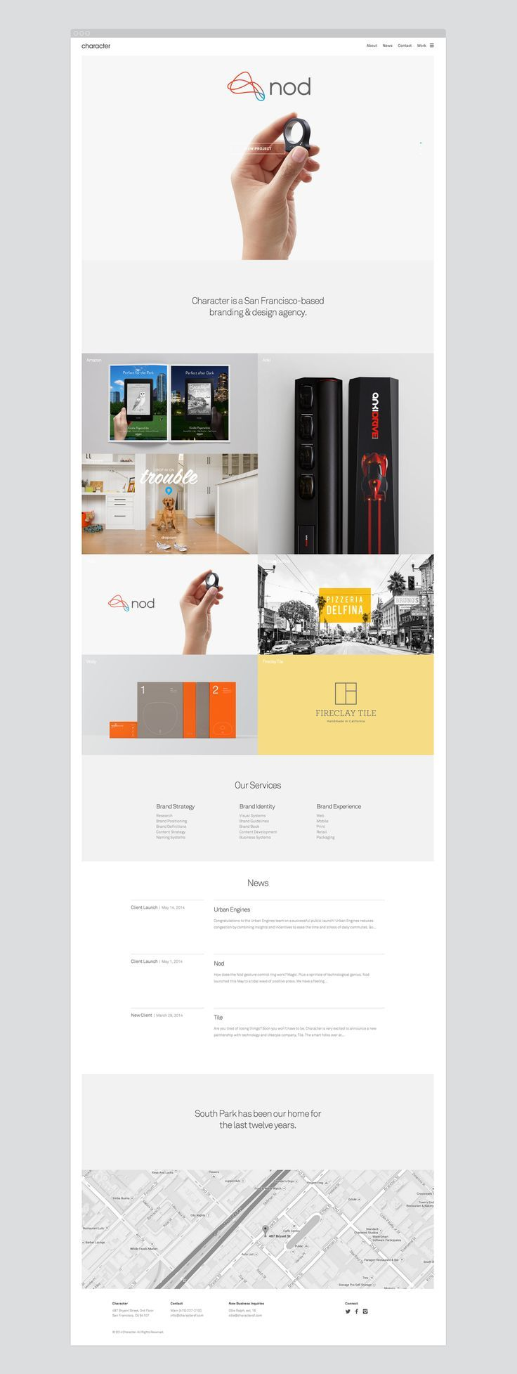 Argo Website Design