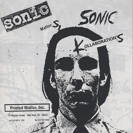Mike Kelley fronts Sonic Youth, 1986   Dangerous Minds