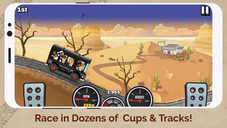 Hill Climb Racing 2 مهكرة للاندرويد أحدث إصدار 1 29 0 مشتريات