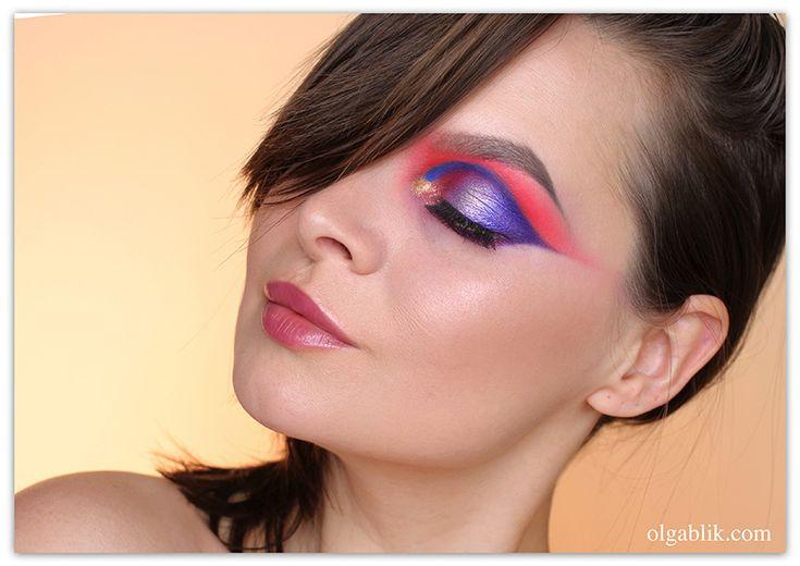 Olga Blik | Яркий макияж глаз и мысли вслух)! | https://olgablik.com
