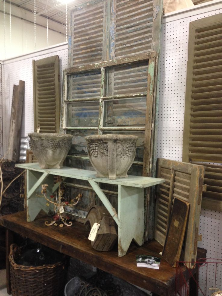 My Booth Space At The Antique Market Place In Greensboro, NC