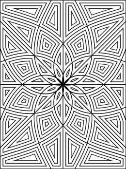 86 best Color Geometric Designs images on Pinterest  Mandalas