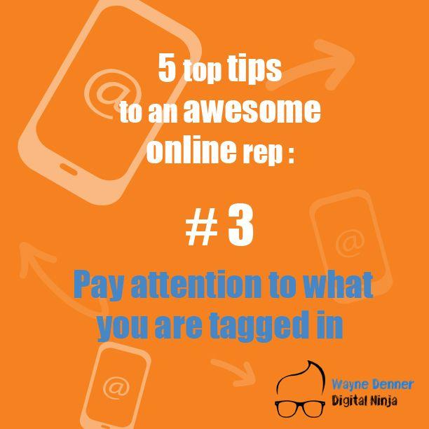 Top Tip Number 3 Online Reputation