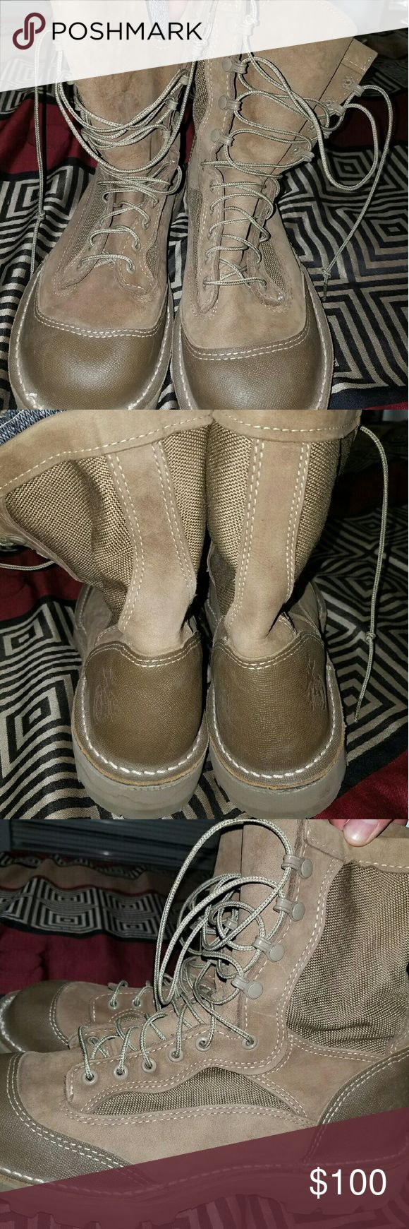 Wellco USMC RAT boots Khaki, made in USA, all weather proof insulation, never been worn. wellco  Shoes Boots