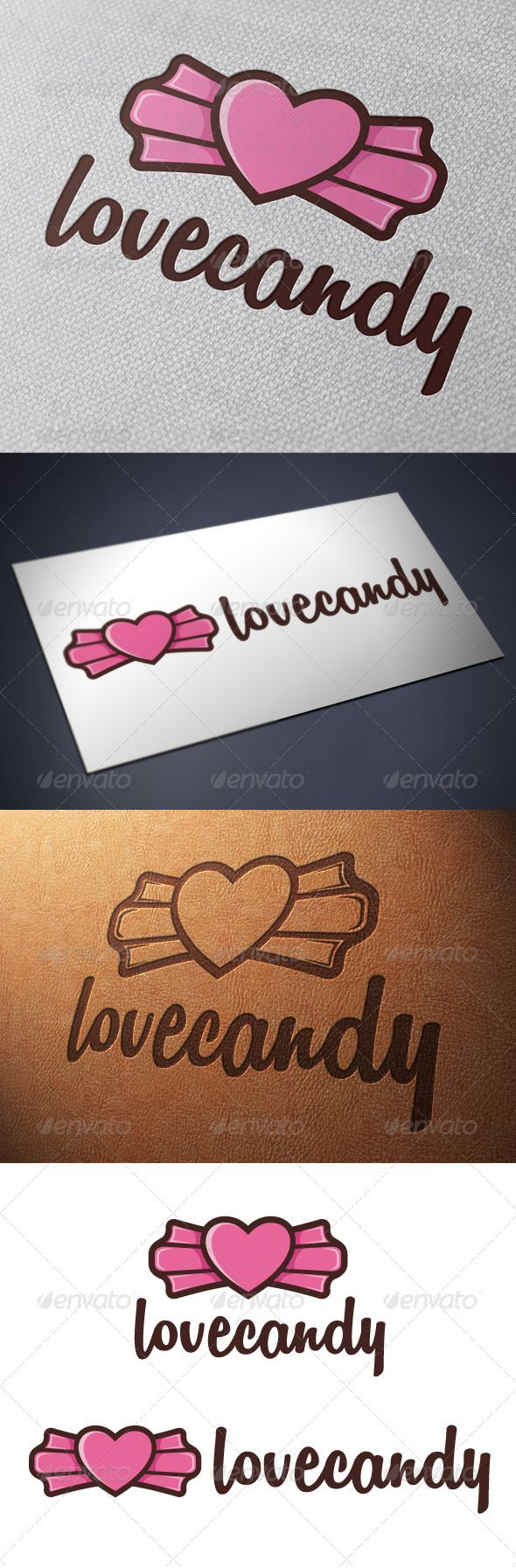 Candy Love Logo Template