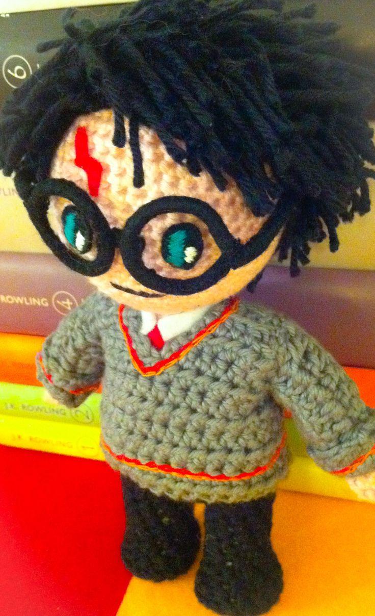 Patrones Amigurumi Harry Potter : 247 mejores imagenes sobre amigurumis en Pinterest ...