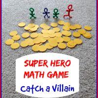 Super Hero Math Game: Catch a Villain
