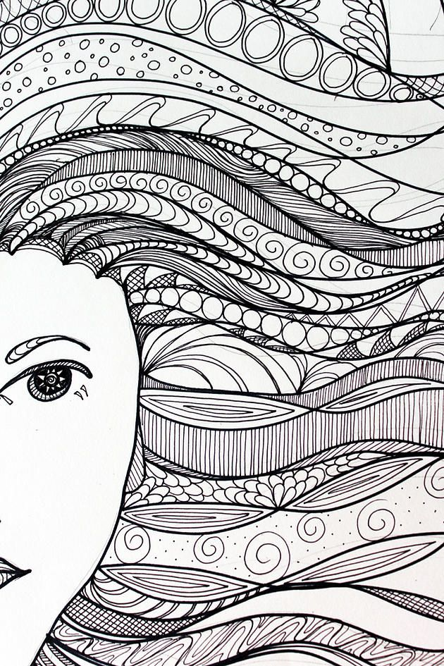 tangerine-life | Zentangle Art