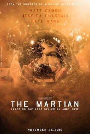 Movie : The Martian Language : English Genre : Adventure, Drama, Sci-Fi Director : Ridley Scott Writers : Drew Goddard (screenplay), Andy Weir (based on the novel by) Stars : Matt Damon, Jessica Ch…