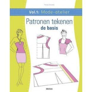 Mode-atelier vol.1- Patronen tekenen - de basis - Boeken
