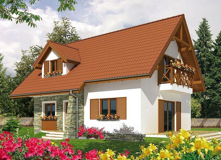 Case de vis cu mansarda - trei proiecte captivante, cu arhitectura diferita