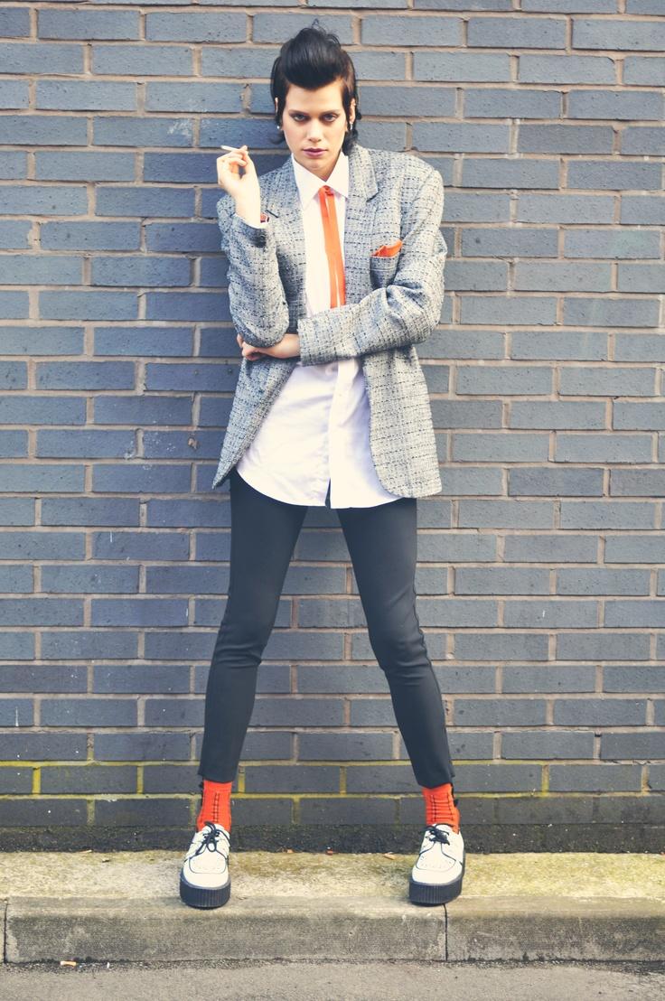 TEDDY BOY BABY. Styling: Rachel Smith Photography: Leah Henson Photography Model: Jennifer Frances Joint Make Up Artist: Alex Joint