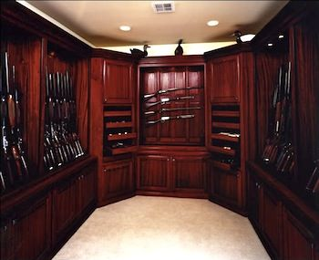 Gun safe rooms the gun room itself is a hidden room for How to build a gun vault room