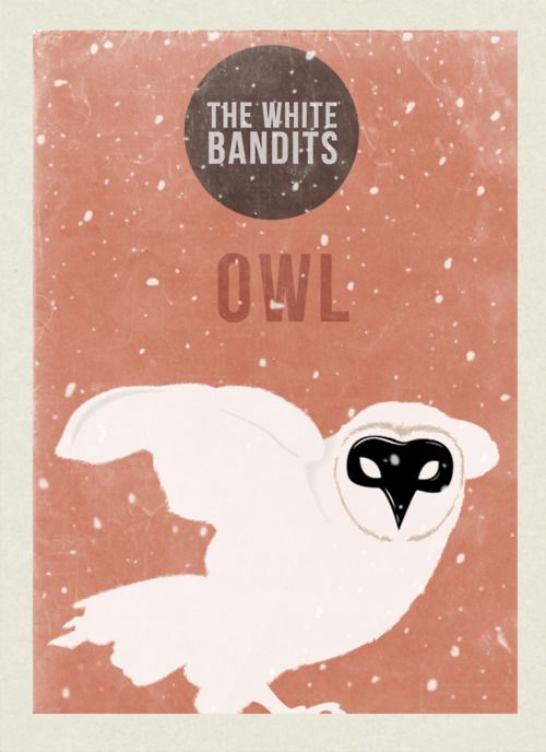 owl poster for The White Bandits