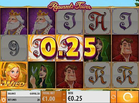 Игровой автомат Rapunzel's Tower с выводом денег Компанія Quickspin випустила автомат Rapunzel's Tower для любителів казкової тематики. Для виведення грошей з цього ігрового апарату потрібно збирати комбінації на 20 лініях. Також з отриманням реальних призів допоможуть Респін і бонусні обертання.